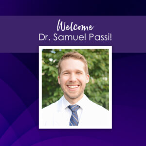 Welcome Dr. Samuel Passi Ophthalmologist